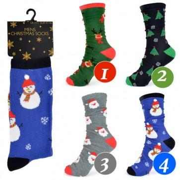 moške nogavice- božične