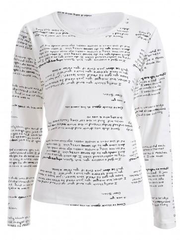 majica Pismo