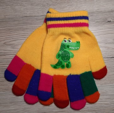 otroške rokavičke- zmaj