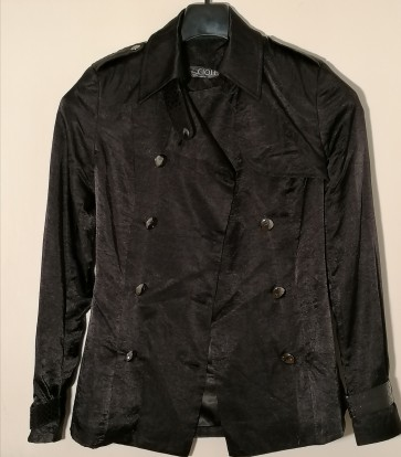 ženska jakna Črna