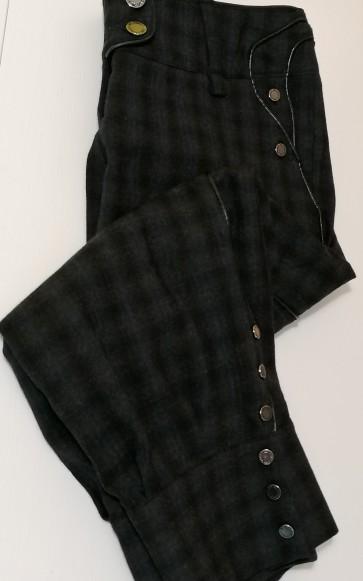 hlače Kara, modre