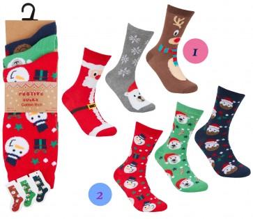 ženske Božične nogavičke-1