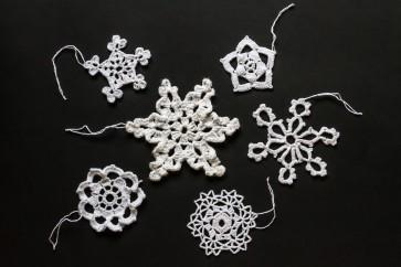 Božično-novoletni okraski, snežinke