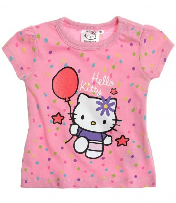 Hello Kitty-kratek rokav, otroška