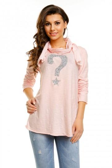 Majička H & W, roza