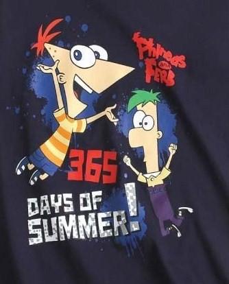 majčka za dečke, dolg rokav- Phineas in Ferb