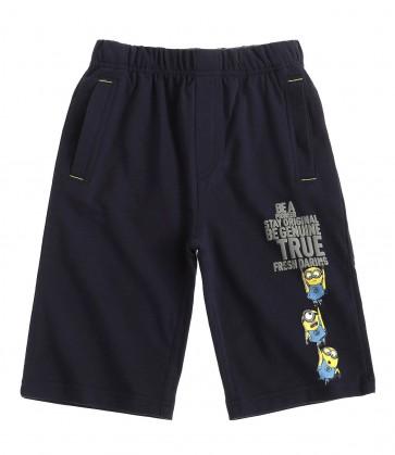 Minions- bermuda hlače, modre, fant.