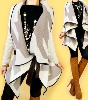 zimska jakna, pončo, pisano