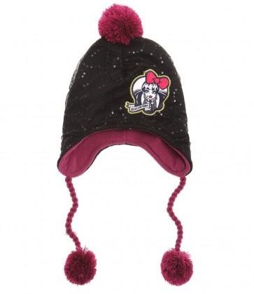 dekliška kapa Monster high, rdeča