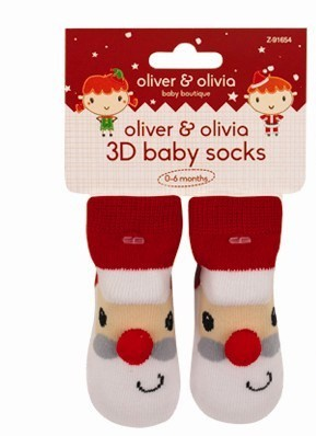 3D otroške nogavičke, božiček