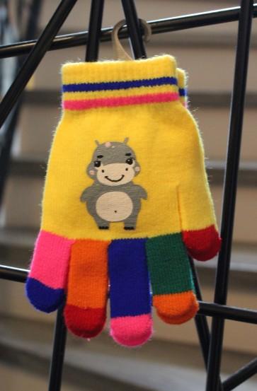 otroške rokavičke- nilski konj