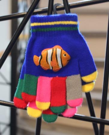 otroške rokavičke- riba