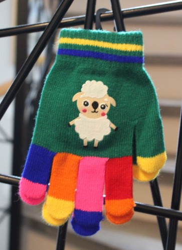 otroške rokavičke- ovčka