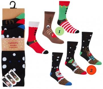 moške Božične nogavice -2
