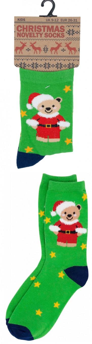 otroške Božične nogavičke- zelene