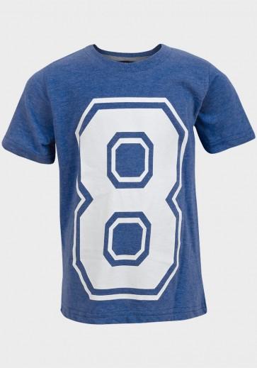 T-shirt za dečke, »Soul & Glory«, modra