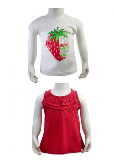 T-Shirts Jagoda - v paketu dve majički
