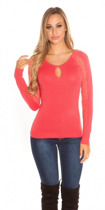 pulover KouCla, rdeč