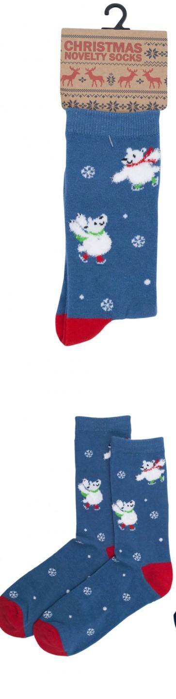 ženske Božične nogavice-3
