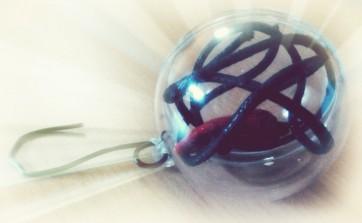verižica v božični bunkici