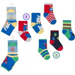 otroške nogavičke, pošasti-2