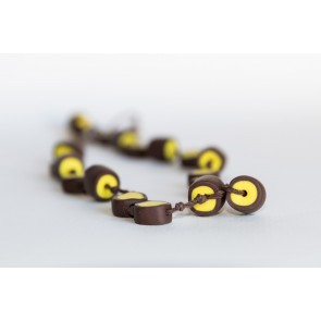rjavo-rumena verižica