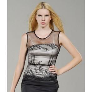 bluza Črno-bela