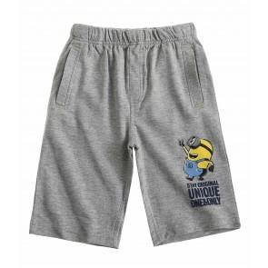 Minions- bermuda hlače, sive, fant.