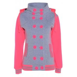 zimska jakna Varsity s kapuco