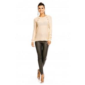 pulover Luzabelle, beige